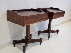 Claudio Salocchi Pair of Side Tables by Claudio Salocchi for Sormani Model SC 50 - 1172235