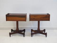 Claudio Salocchi Pair of Side Tables by Claudio Salocchi for Sormani Model SC 50 - 1172236