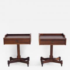 Claudio Salocchi Pair of Side Tables by Claudio Salocchi for Sormani Model SC 50 - 1177899