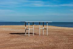 Clement Brazille Original Ocean Travertine Desk by Clement Brazille - 1340334