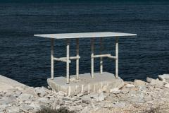 Clement Brazille Original Ocean Travertine Desk by Clement Brazille - 1340335
