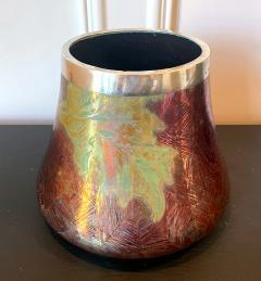 Clement Massier French Japonesque Art Nouveau Lusterware Vase Clement Massier - 1984644