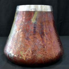Clement Massier French Japonesque Art Nouveau Lusterware Vase Clement Massier - 1984650