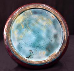 Clement Massier French Japonesque Art Nouveau Lusterware Vase Clement Massier - 1984651