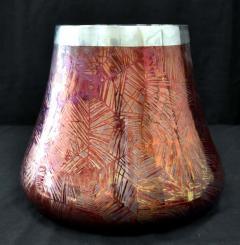 Clement Massier French Japonesque Art Nouveau Lusterware Vase Clement Massier - 1984652