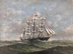 Clipper in High Seas  - 671258