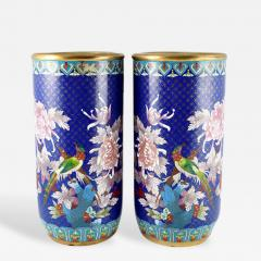 Cloisonn Vases China 15  - 147208