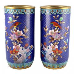 Cloisonn Vases China 15  - 147215