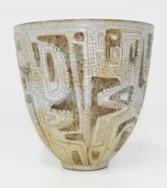 Clyde Burt Clyde Burt Ceramic Vase or Vessel with Sgraffito - 1649609