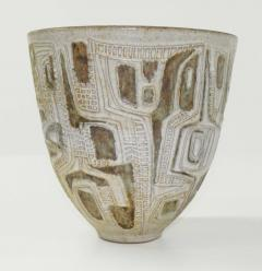 Clyde Burt Clyde Burt Ceramic Vase or Vessel with Sgraffito - 1649612