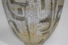 Clyde Burt Clyde Burt Ceramic Vase or Vessel with Sgraffito - 1649613