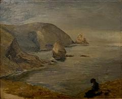 Coastal Painting American Circa 19th Century - 1459283