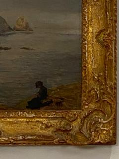 Coastal Painting American Circa 19th Century - 1459284