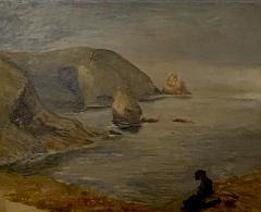 Coastal Painting American Circa 19th Century - 1461748