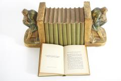 Collection Gilt Leather Bound Book Set - 2107155