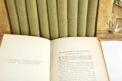 Collection Gilt Leather Bound Book Set - 2107163