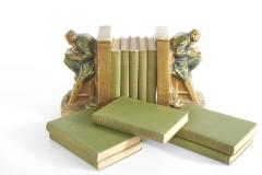 Collection Gilt Leather Bound Book Set - 2107164