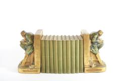 Collection Gilt Leather Bound Book Set - 2107167