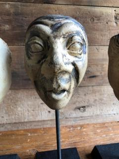 Collection Of 19th Century Carnival Mask Molds - 1040688