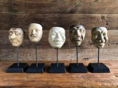 Collection Of 19th Century Carnival Mask Molds - 1040690