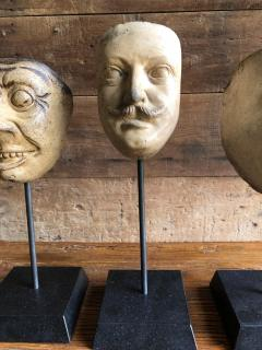 Collection Of 19th Century Carnival Mask Molds - 1040691
