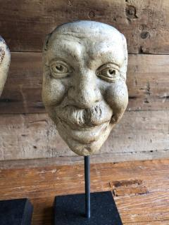 Collection Of 19th Century Carnival Mask Molds - 1040693