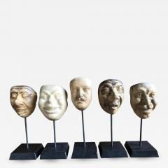 Collection Of 19th Century Carnival Mask Molds - 1042141