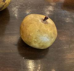 Collection of 18th century marble fruits - 2047309