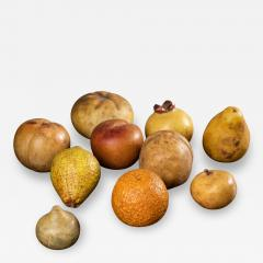 Collection of 18th century marble fruits - 2049280