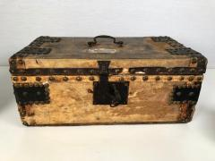 Collection of 3 Early Parchment Covered Boxes - 1040338