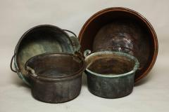 Collection of Copper Containers - 655902