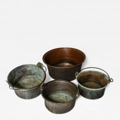 Collection of Copper Containers - 657073