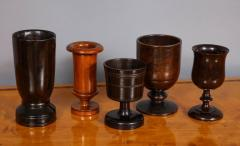 Collection of Treen Vessels - 685780