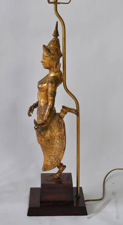 Collection of Vintage Thai Figure Lamps - 364991
