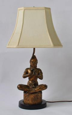 Collection of Vintage Thai Figure Lamps - 364995