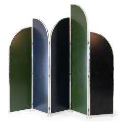 Colorful Modernist Folding Screen by Sandro Petti - 2004485