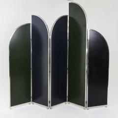 Colorful Modernist Folding Screen by Sandro Petti - 2004488