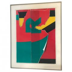 Colorful R Lithograph - 1210047