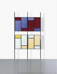 Colourful Midcentury Modern Italian Partition Wall Room Divider - 801020