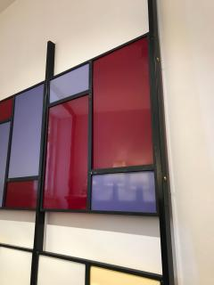 Colourful Midcentury Modern Italian Partition Wall Room Divider - 801023
