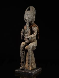 Community Protective Power Figure covered in Pangolin scales with Necklace - 1998822