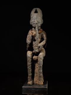 Community Protective Power Figure covered in Pangolin scales with Necklace - 1998828