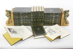 Complete Collection Gilt Leather Bound Book Set - 2107251