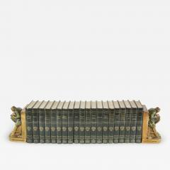 Complete Collection Gilt Leather Bound Book Set - 2109294