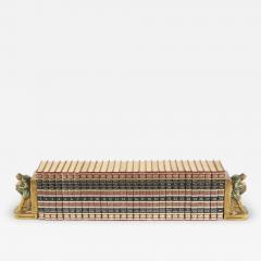 Complete Collection Gilt Leather Bound Book Set - 2109295