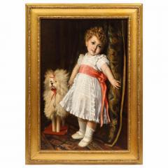 Constantin Meunier Constantin Emile Meunier Hide Seek French Oil on Canvas - 1161416