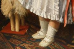 Constantin Meunier Constantin Emile Meunier Hide Seek French Oil on Canvas - 1161420