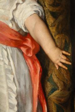 Constantin Meunier Constantin Emile Meunier Hide Seek French Oil on Canvas - 1161423