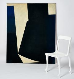 Constantin Paulet Constantin Paulet Large Abstract Oil on Canvas Painting - 1181351