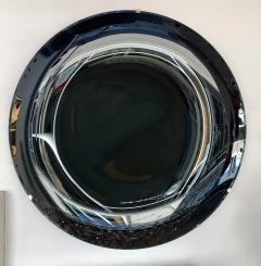 Contemporary Black Curve Mirror Italy - 1464334